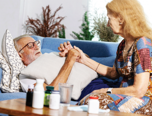 End of life care at home